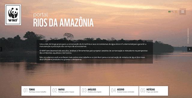 WWF - Rios da amazonia